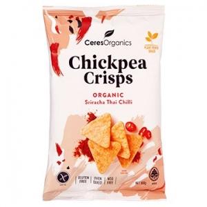 Ceres Organic Chickpea Crisps SRIRACHA THAI CHILLI 100g x 5