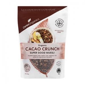 Ceres Organic Super Good Cacao Crunch Muesli 525g