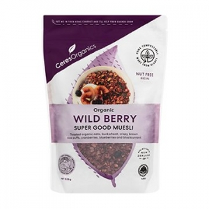 Ceres Organic Super Good Wild Berry Muesli 525g