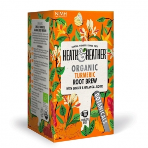 Heath and Heather Organic Turmeric Root Brew 20 Tea Bags