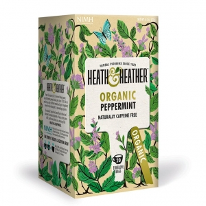 Heath and Heather Organic Peppermint 20t-bags