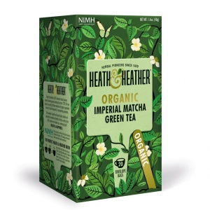 Heath and Heather Organic Imperial Matcha 20 Tea Bags