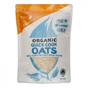 Ceres Organic Wholegrain Quick Cook Oats 600g