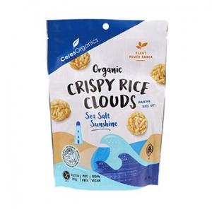 Ceres Organic Crispy Rice Clouds SEA SALT 50g x 6