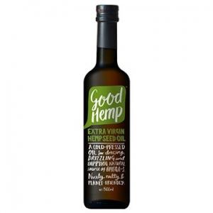 Ceres Organic Good Hemp Extra Virgin Hemp Seed Oil 500ml