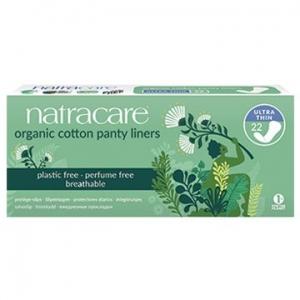 Natracare Organic Cotton Panty Liners Ultra Thin 22pk
