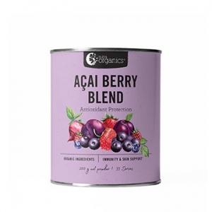 Nutra Organics Acai Berry Blend Powder 200g
