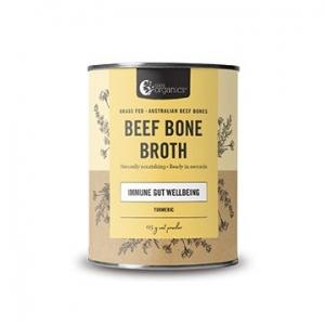 Nutra Organics Beef Bone Broth Powder TURMERIC 100g