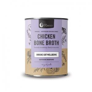 Nutra Organics Chicken Bone Broth HOMESTYLE MUSHROOM 125g