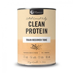 Nutra Organics Clean Protein Salted Caramel Fudge 500g