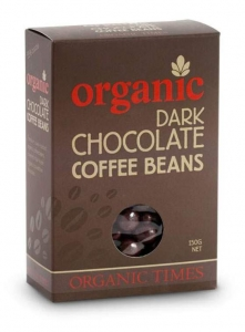 Organic Times Organic DARK Chocolate Coffee Beans 150g