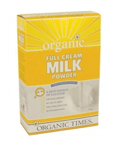 Organic Times Organic Full Cream Milk Powder 300g