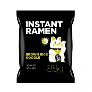 Spiral Brown Rice Ramen Dashi Noodle 88g