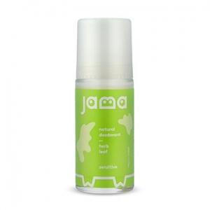 Jama Natural Deodorant Roll On Herb Leaf 50ml