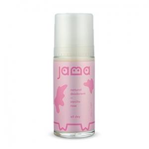 Jama Natural Deodorant Roll On Vanilla Rose 50ml