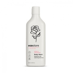 ecostore Body Wash Rose/Geranium 400ml