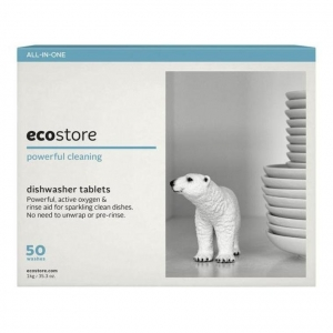 ecostore Auto Dishwash Tablets ULTRA SENSITIVE 50s