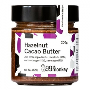 99th Monkey Hazelnut Cacao Butter 200g