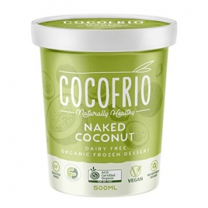 Cocofrio Organic Icecream NAKED COCONUT 500ml x 6