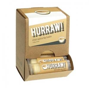 Hurraw Chai Spice Lip Balm 4.3g x 24 Display Pack