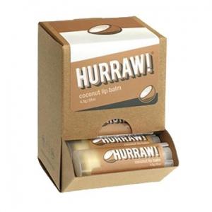 Hurraw Coconut Lip Balm 4.3g x 24 Display Pack