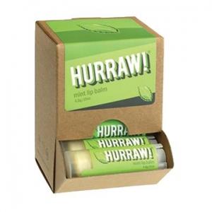 Hurraw Mint Lip Balm 4.3g x 24 Display Pack