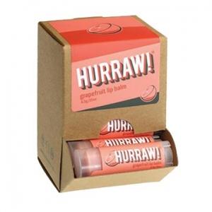 Hurraw Grapefruit Lip Balm 4.3g x 24 Display Pack