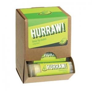 Hurraw Lime Lip Balm 4.3g x 24 Display Pack
