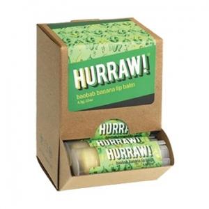 Hurraw Baobab Banana Lip Balm 4.3g x 24 Display Pack