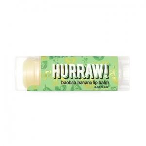 Hurraw Baobab Banana Lip Balm 4.3g