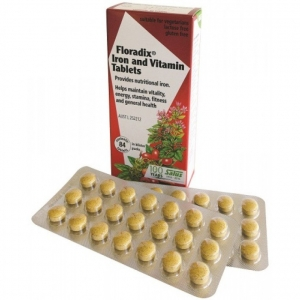 Floradix Iron and Vitamin 84 Tablets