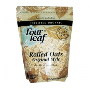 Four Leaf Milling Organic Original (Unstabilised) Rolled Oats 800g