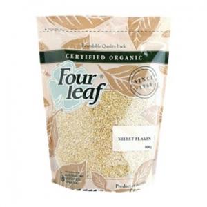 Four Leaf Milling Organic Millet Flakes 800g