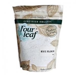 Four Leaf Milling Organic Rye Flour 1kg