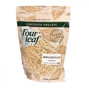 Four Leaf Milling Organic Stabilised Rolled Oats 800g