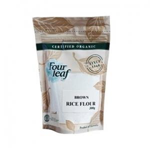Four Leaf Milling Organic Brown Rice Flour 300g