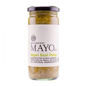 Mullumbimby Mayo Co Vegan Basil Pesto 235g x 6