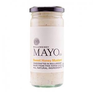 Mullumbimby Mayo Co Sweet Honey Mustard 235g x 6